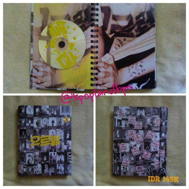 2nd Album Growl kiss vers