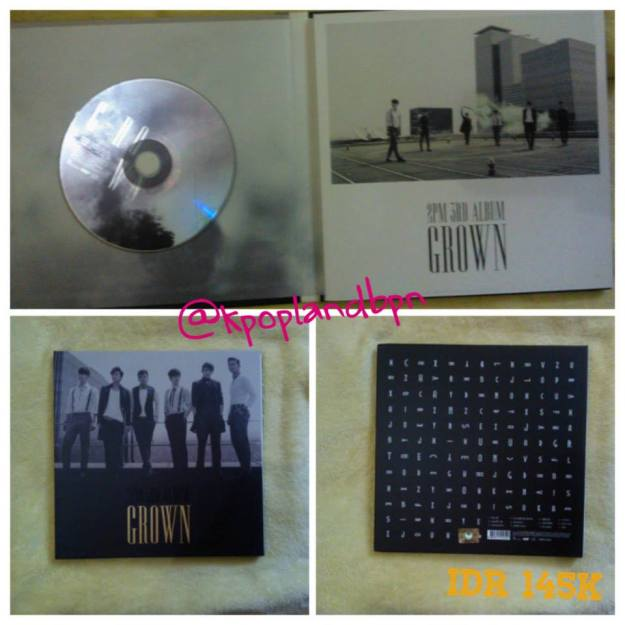 2nd Album 2pm Grown