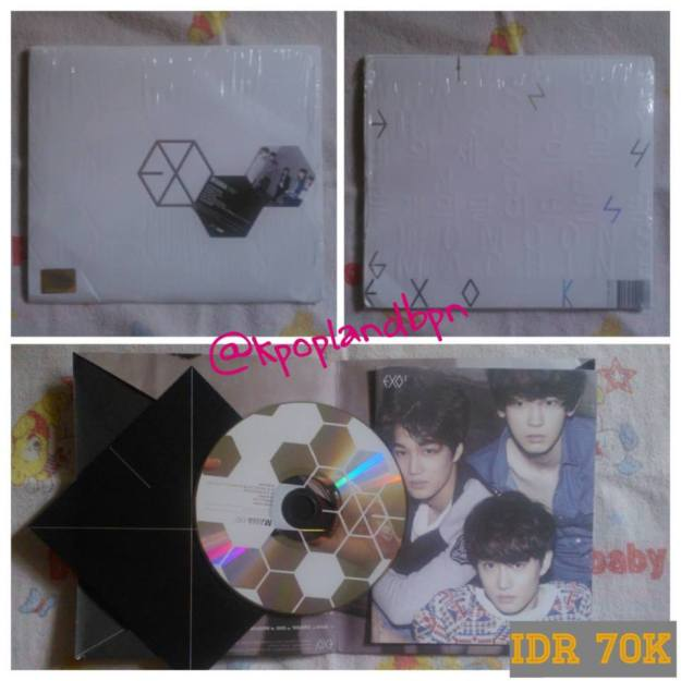 2nd album Exo Mama-K