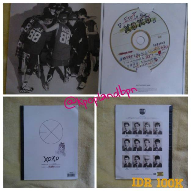 2nd Album xoxo Hug vers