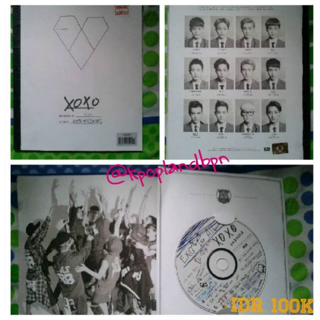 2nd Album xoxo Kiss vers